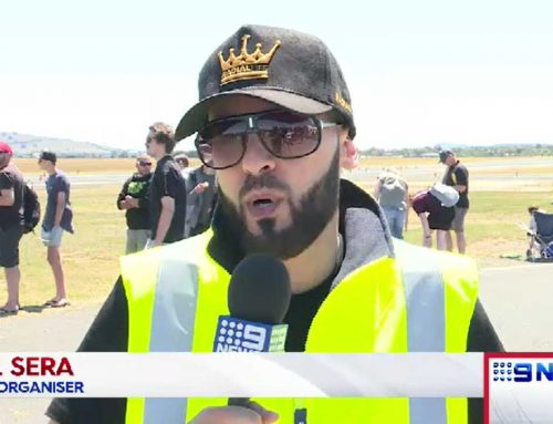 Radial Drag Racing Coverage By 9 News